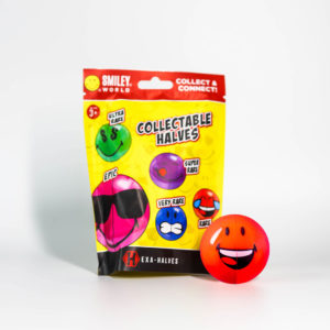 Smiley Halves Bag and Ball