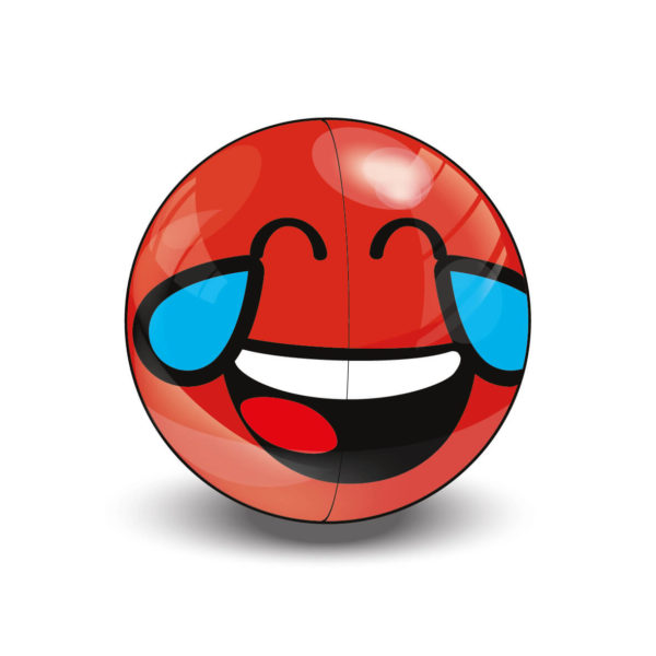 Red Rare Smiley Halves