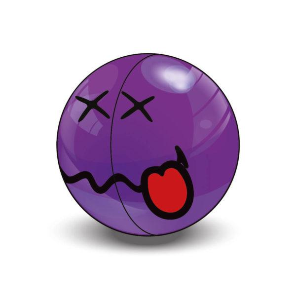 Purple Super Rare Smiley Halves